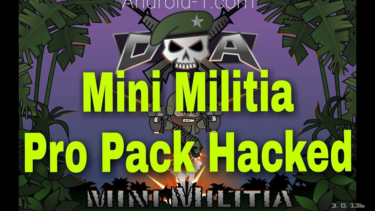 How To Download Mini Militia Pro Pack Mod Apk For Android